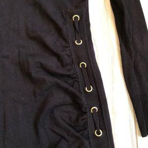 Cache Dresses - Black Sweater Dress